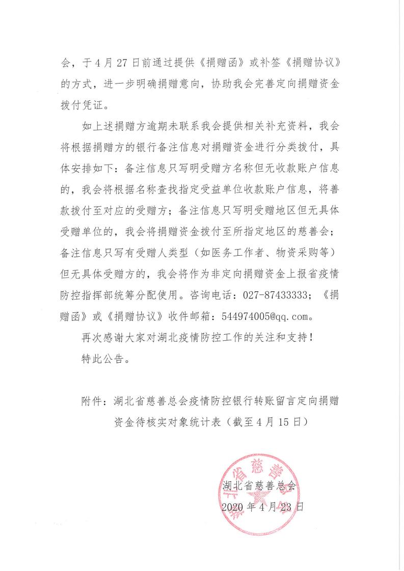 湖北省慈善总会关于寻找银行转账留言_01.png